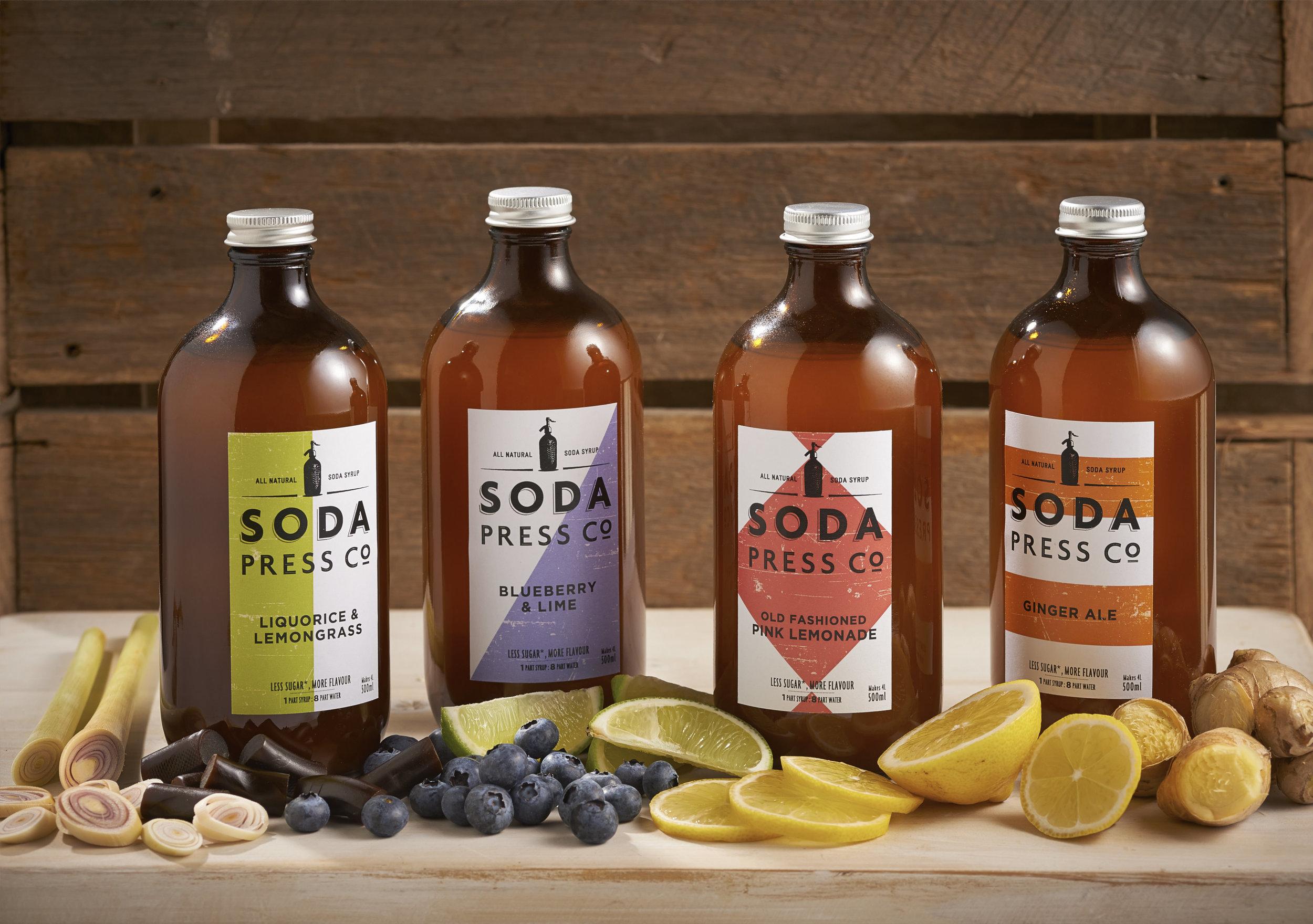 Soda Press Co. organic syrup