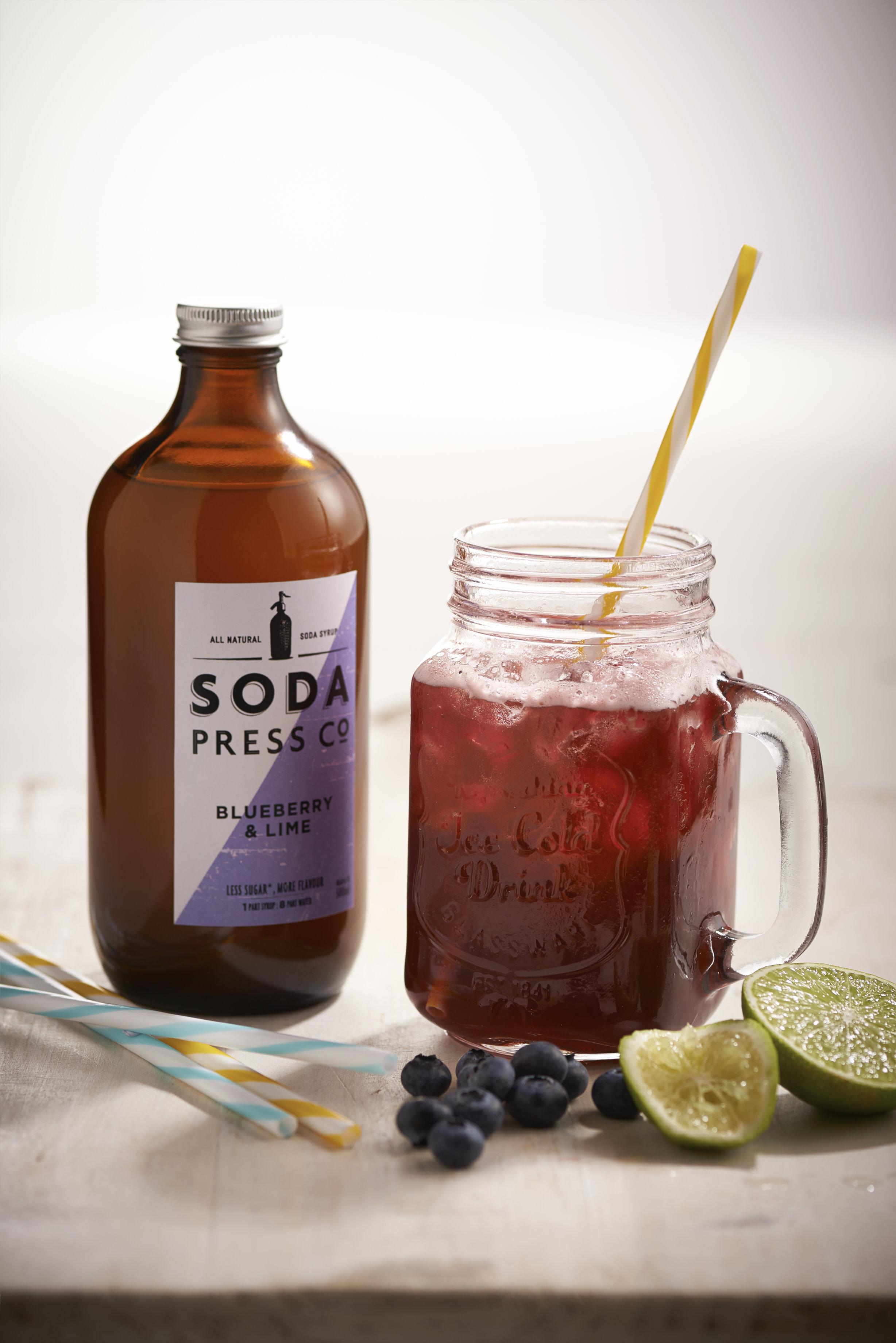 Soda Press Co. natural fruit syrups