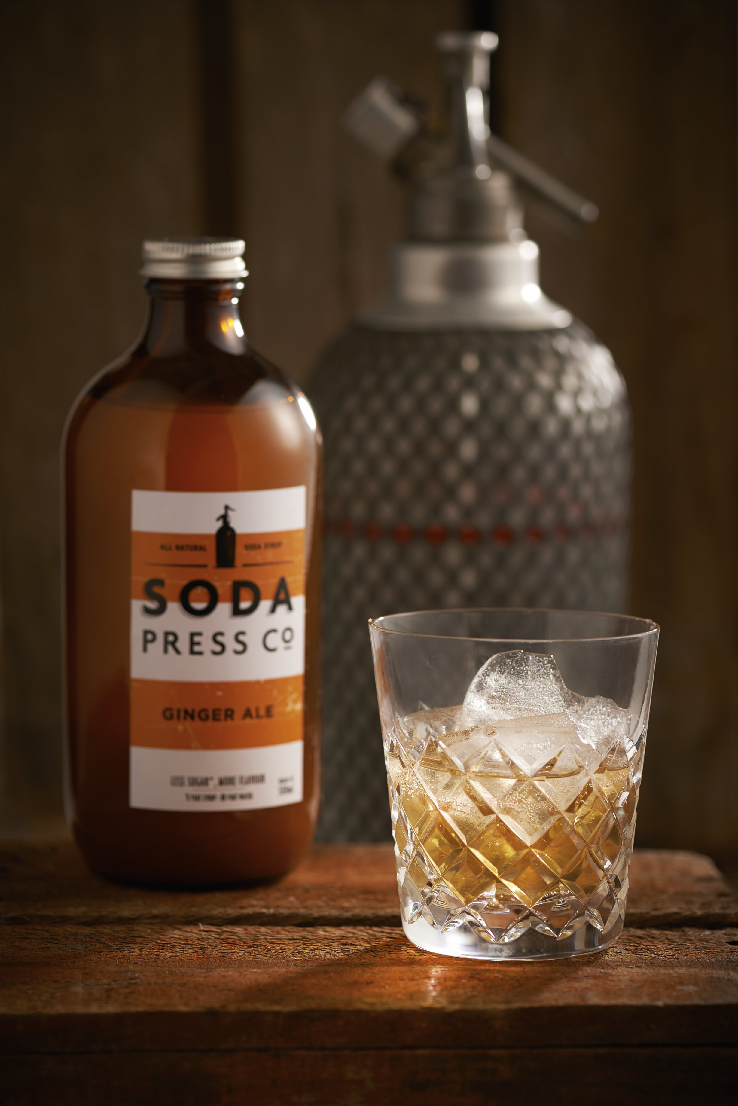 Soda Press Co. Organic fruit syrups