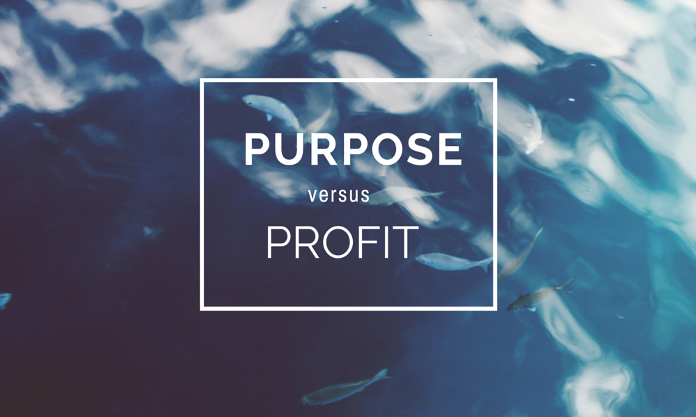 Purpose is good for your bottom line