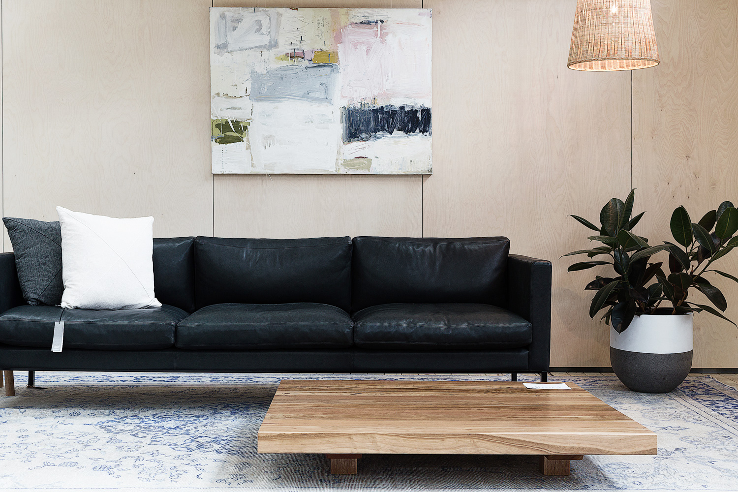 The Classic Sofa and the  Zen Low Table , both designed by Koskela.Photography by  Richard Whitbread .