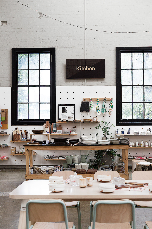 Kitchen homewares.Koskela in Rosebery.Photography by  Richard Whitbread .