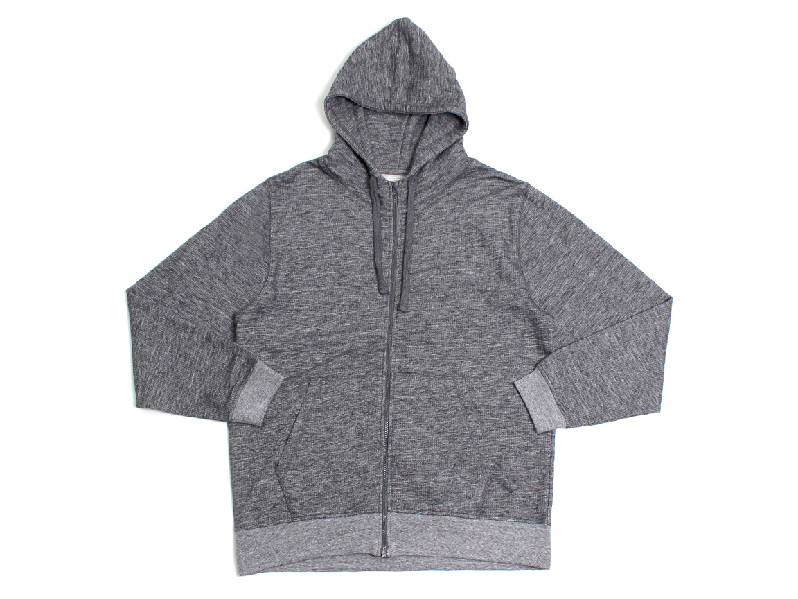 Shadow Zip Hoodie - Charcoal