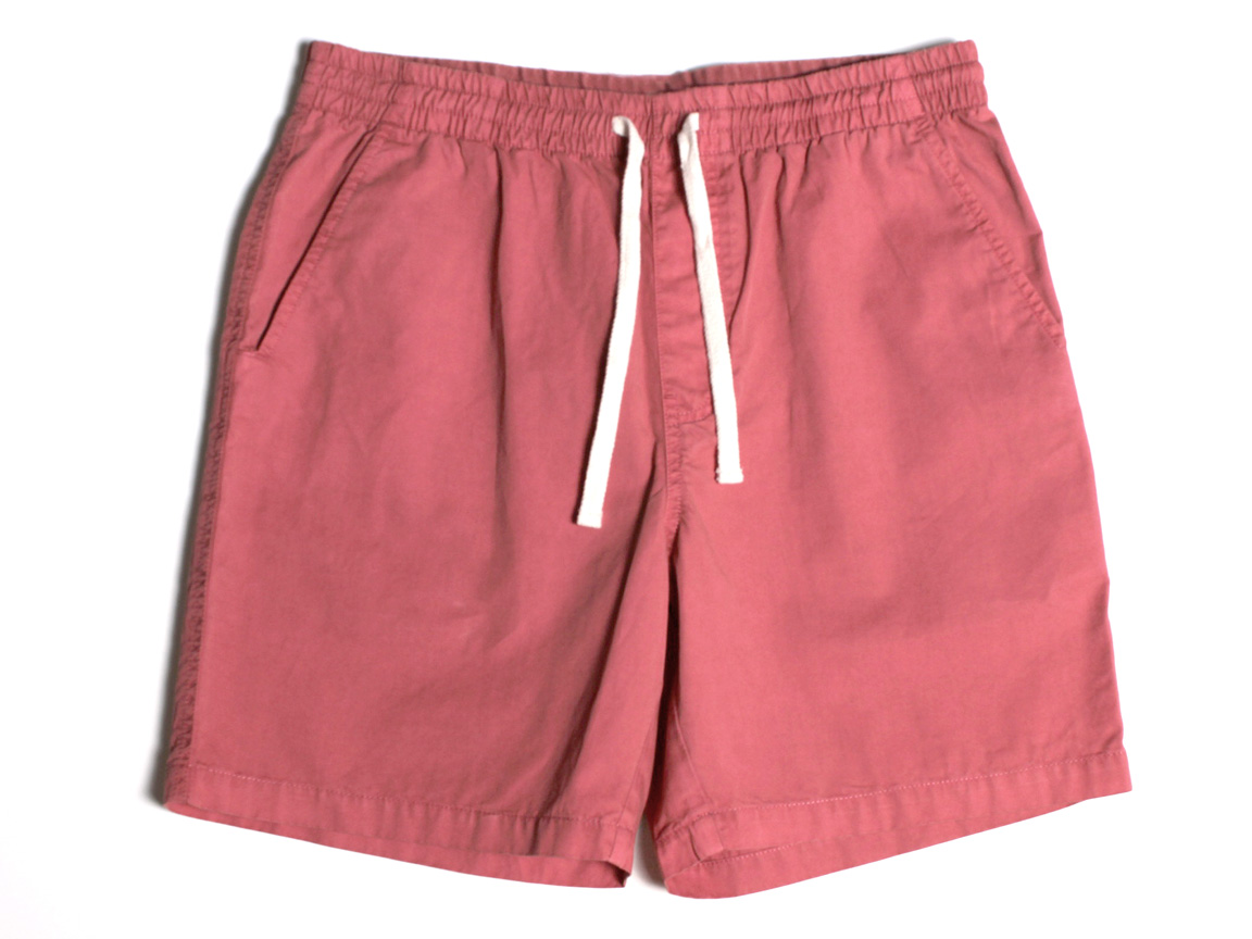 Twill Shorts - Faded Red