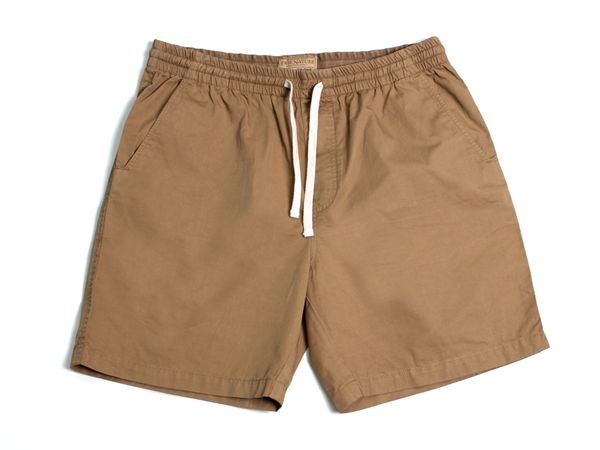 Twill Shorts - Tobacco