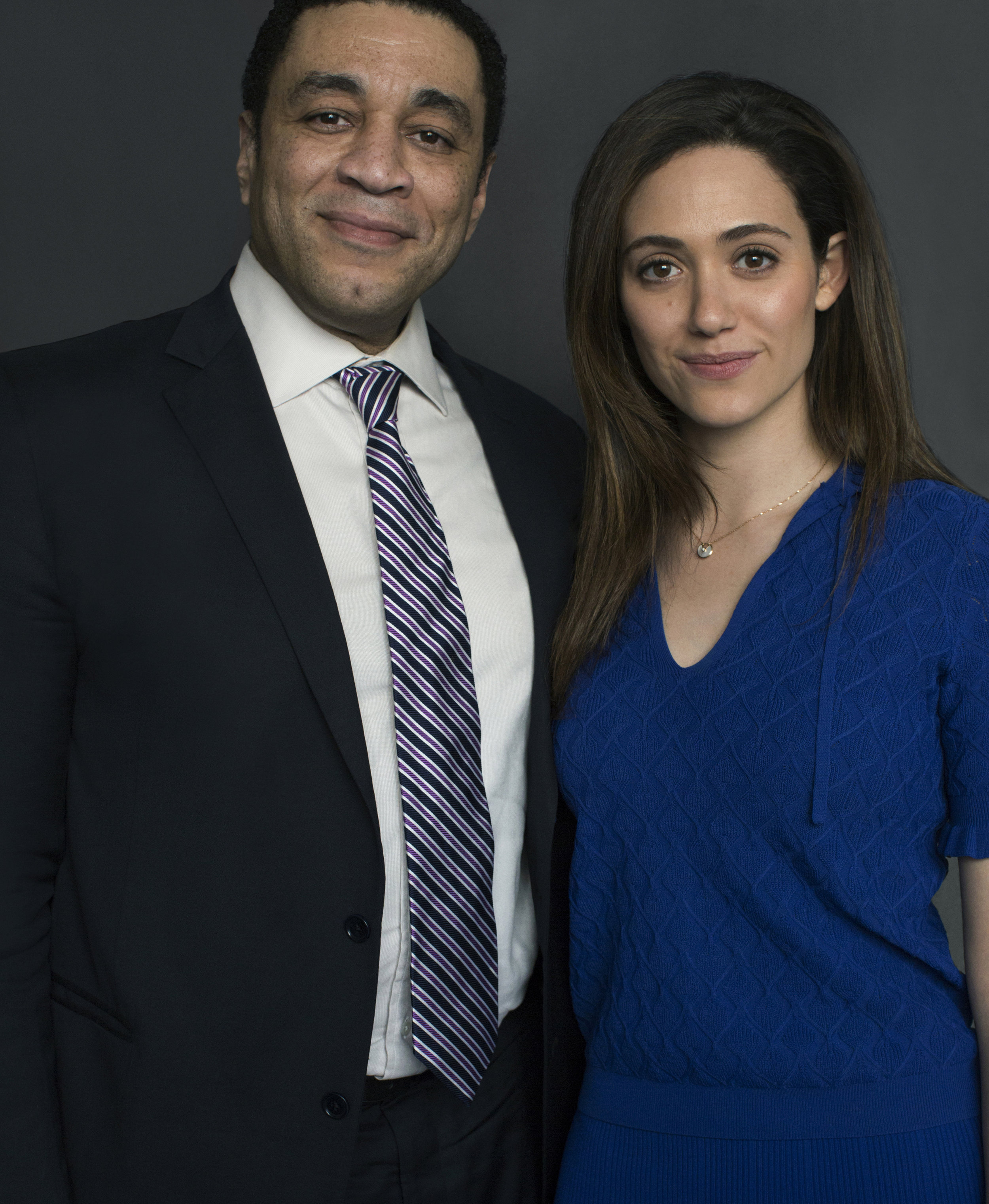 Hary Lenix & Emmy Rossum /  ITS harassment campaign