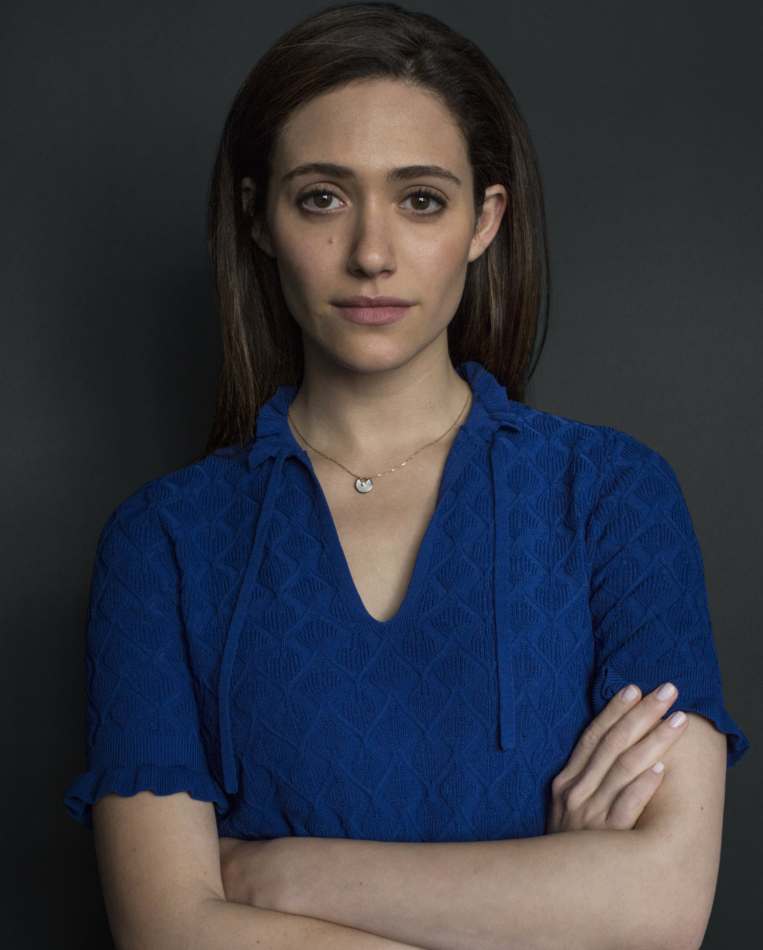 Emmy Rossum / Its harassment campaign