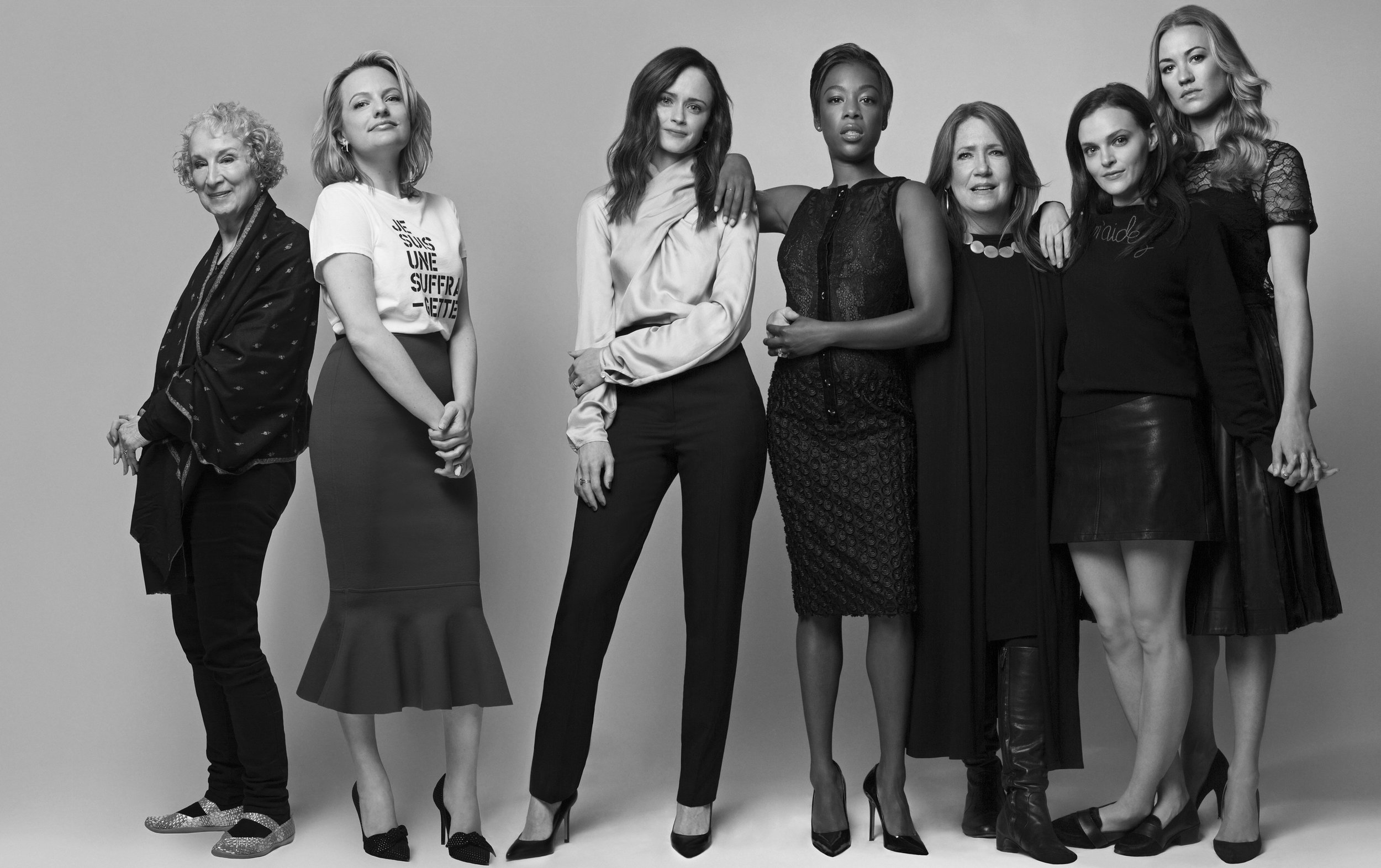 Cast of the Handmaid's Tale / W Magazine