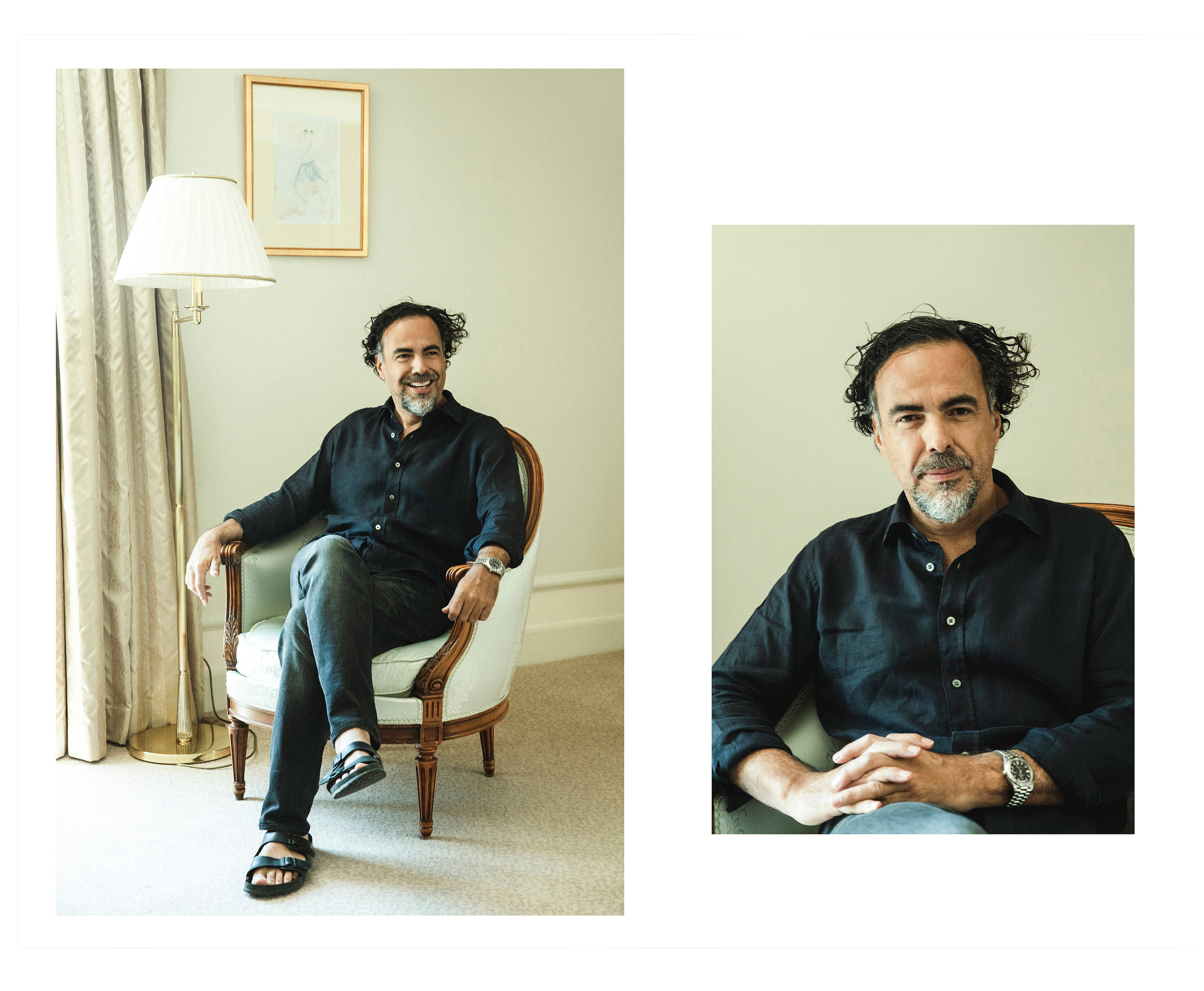 Alejandro Innaritu / W Magazine