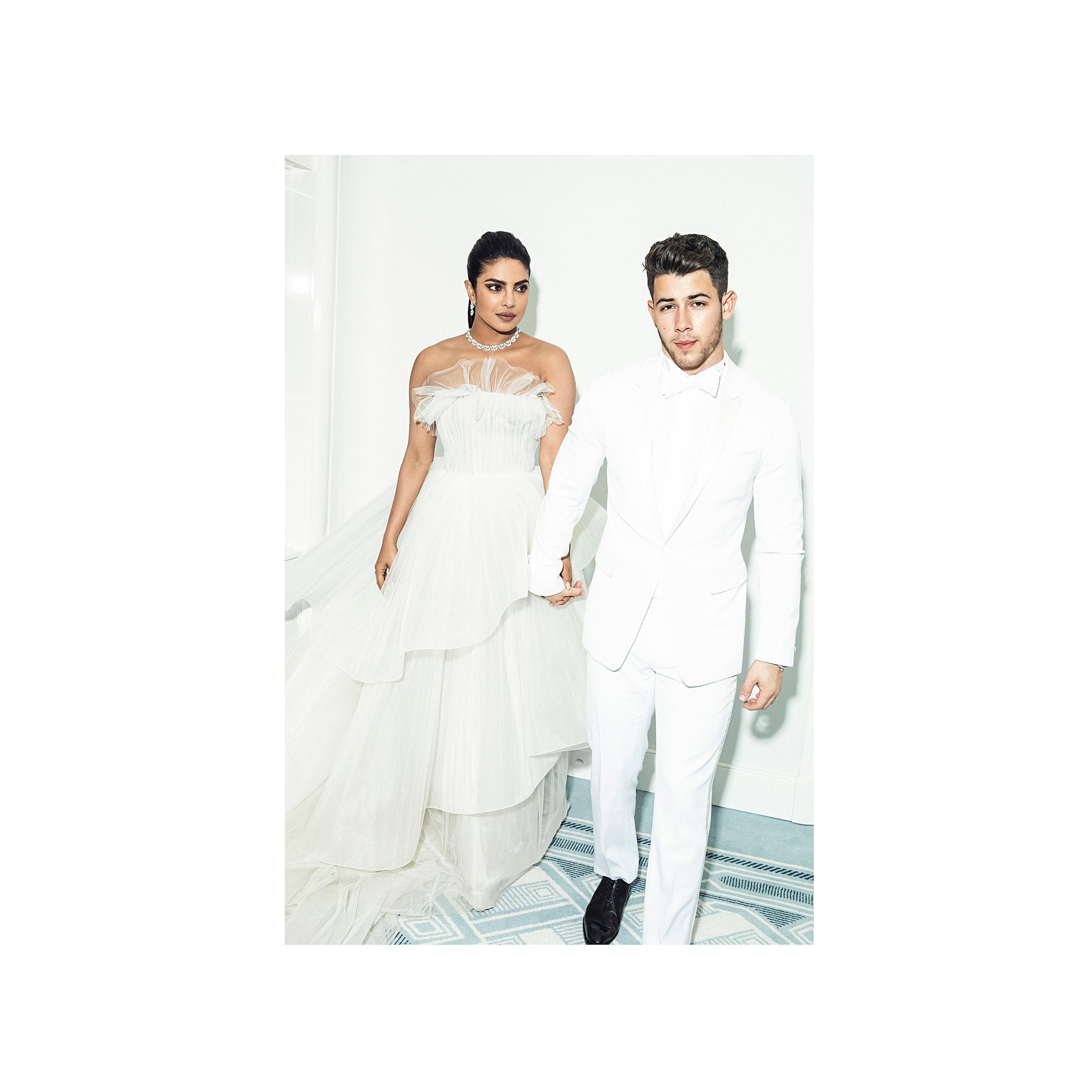 priyanka chopra  & Nick Jonas / W Magazine