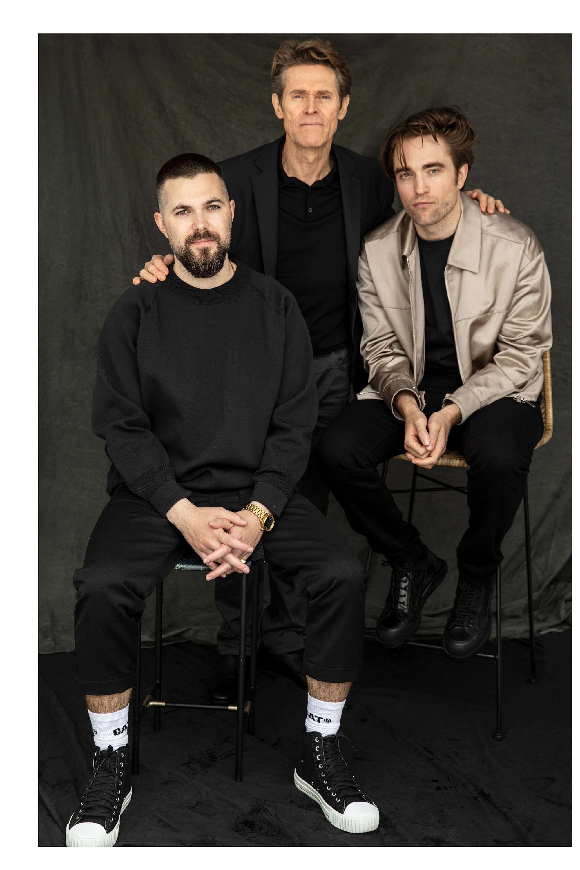Director Robert Eggers - Willem Dafoe -  Robert Pattinson / W magazine