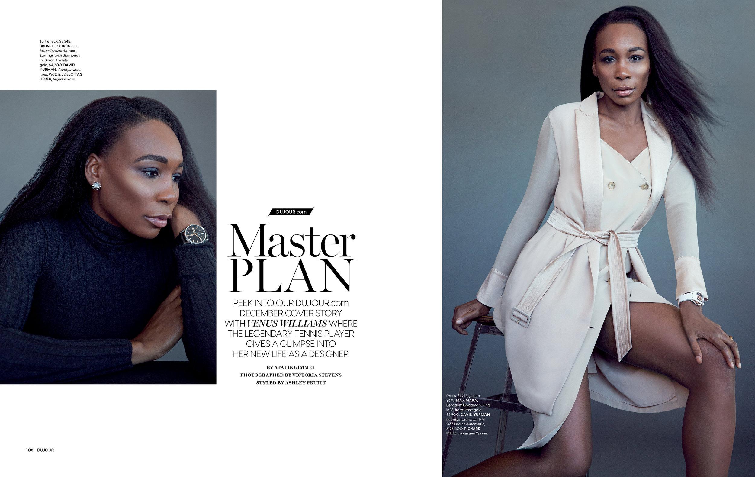 Venus Williams / Dujour Magazine