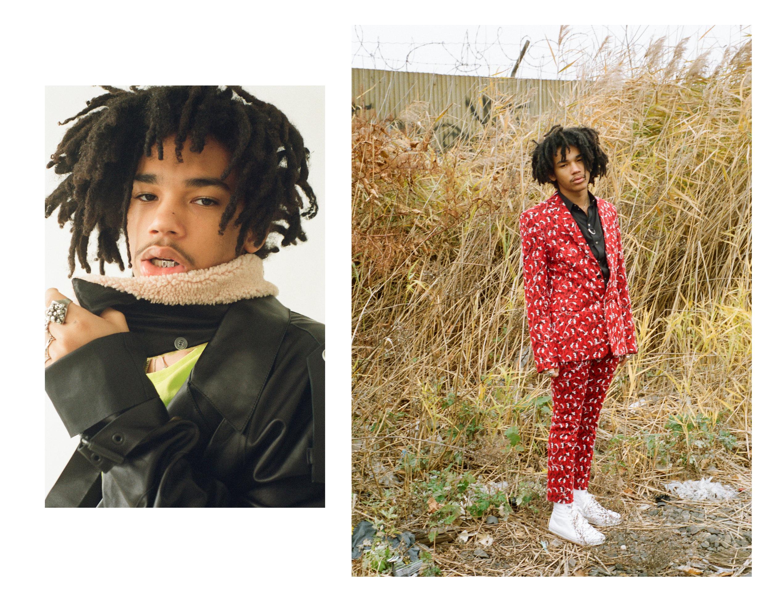 Luka Sabbat / Flaunt Magazine