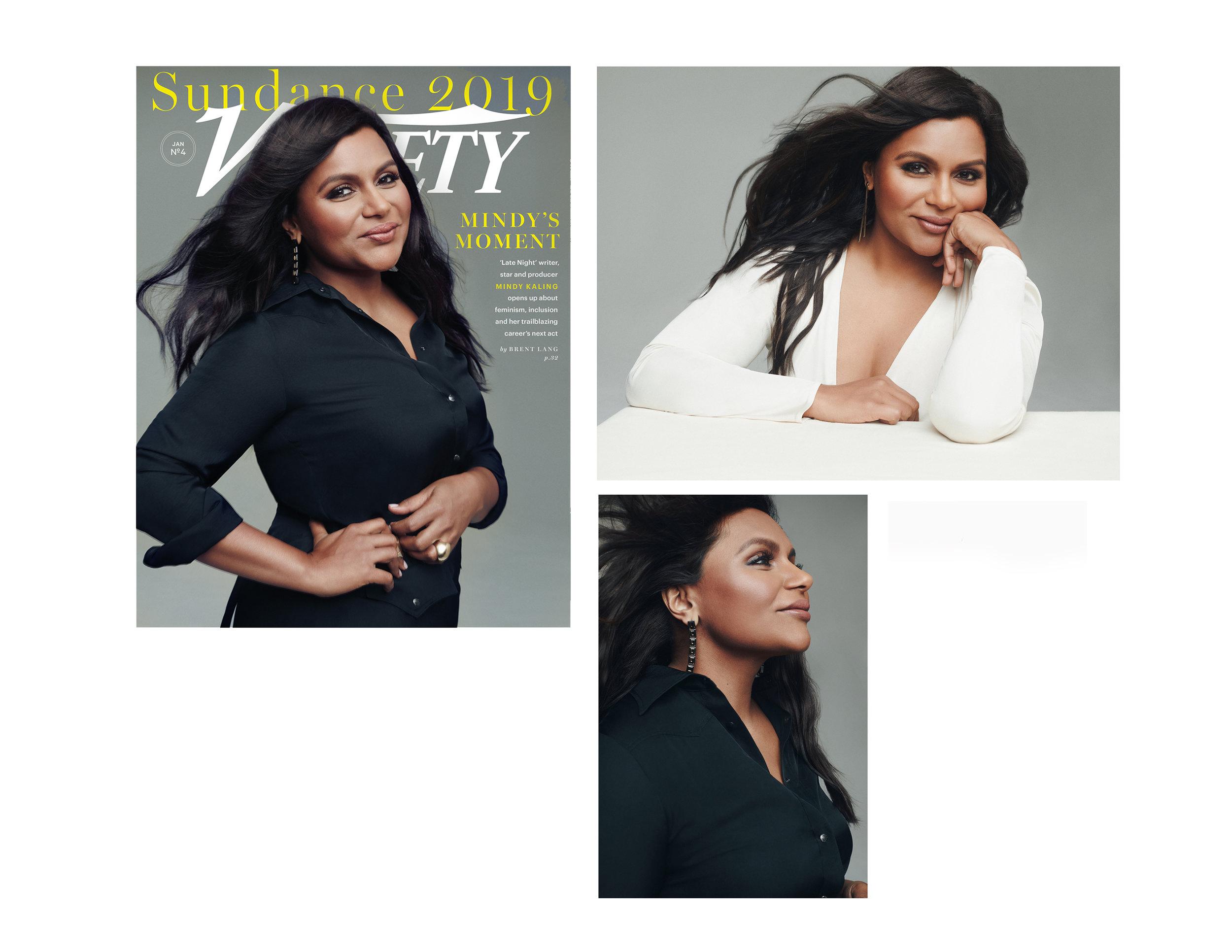 Mindy Kaling / Variety