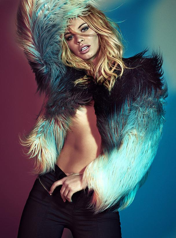 ingeborg make up on Alex Spencer W Magazine Marciano