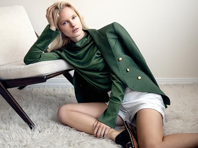 Ingeborg make up artist for Sunday Style featuring Hannah Holman