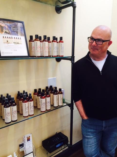 Greg Starkman of Innersense Organic Beauty