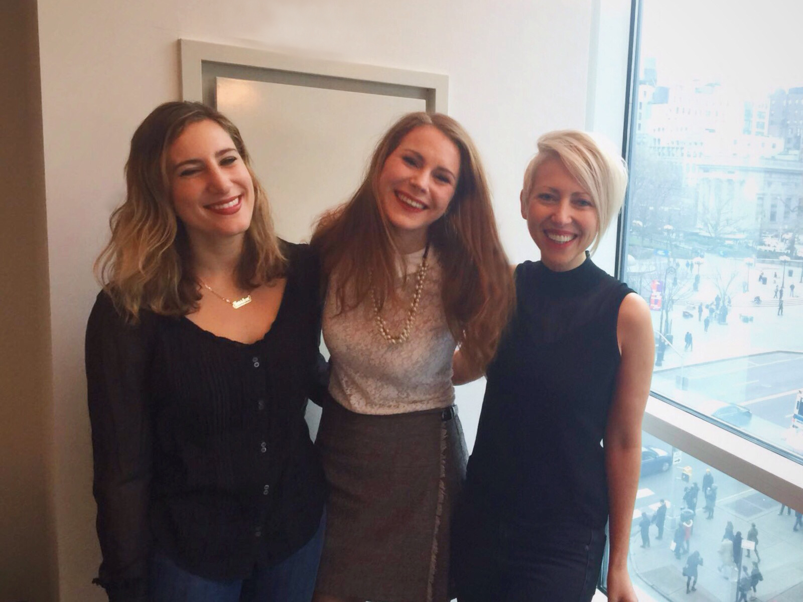 Jessica, Katie and Enke