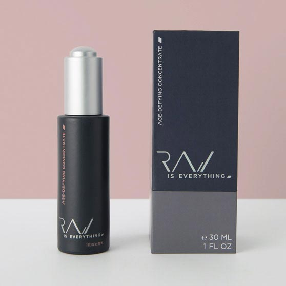 RAW IS EVERYTHING  Age-Defying Concentrate