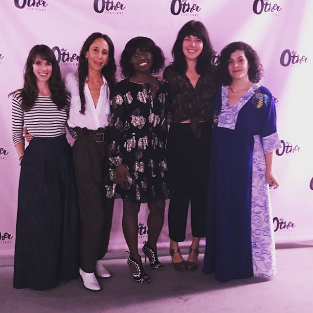 Thank you @otherfestival for creating such a positive and empowering space for women creators to share their stories. It was surreal to sit on the Eco Warriors panel alongside @marahoffman @ecocult and @celinecelines of @theslowfactory. Thank you @deepoku for creating this groundbreaking festival and for shining a light on sustainable fashion and clean beauty.