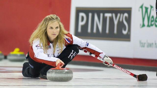 Jennifer Jones has won the Manitoba Scotties Tournament of Hearts six times (Anil Mungal).