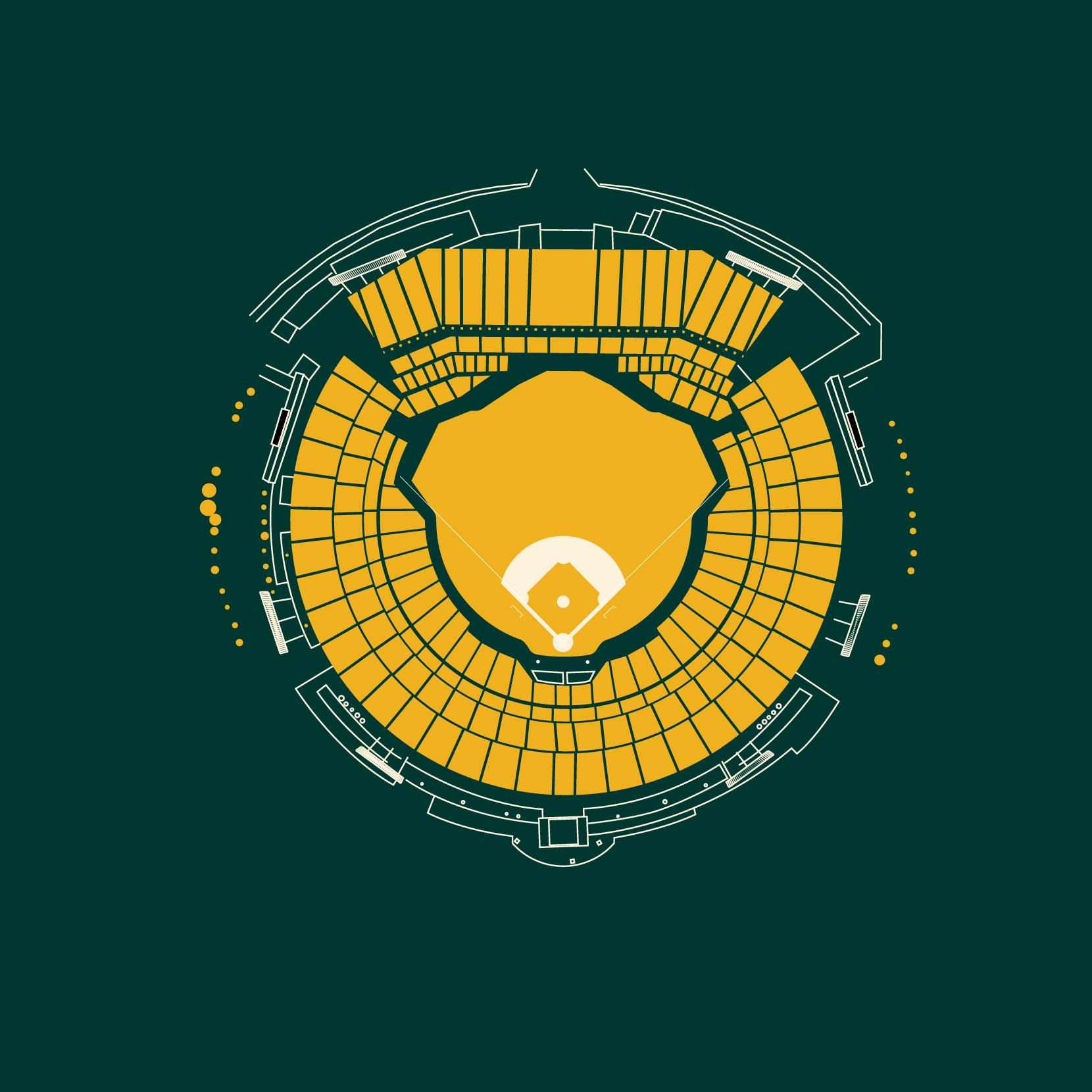 23 Oakland lameda County Coliseum Oakland Athletics.png