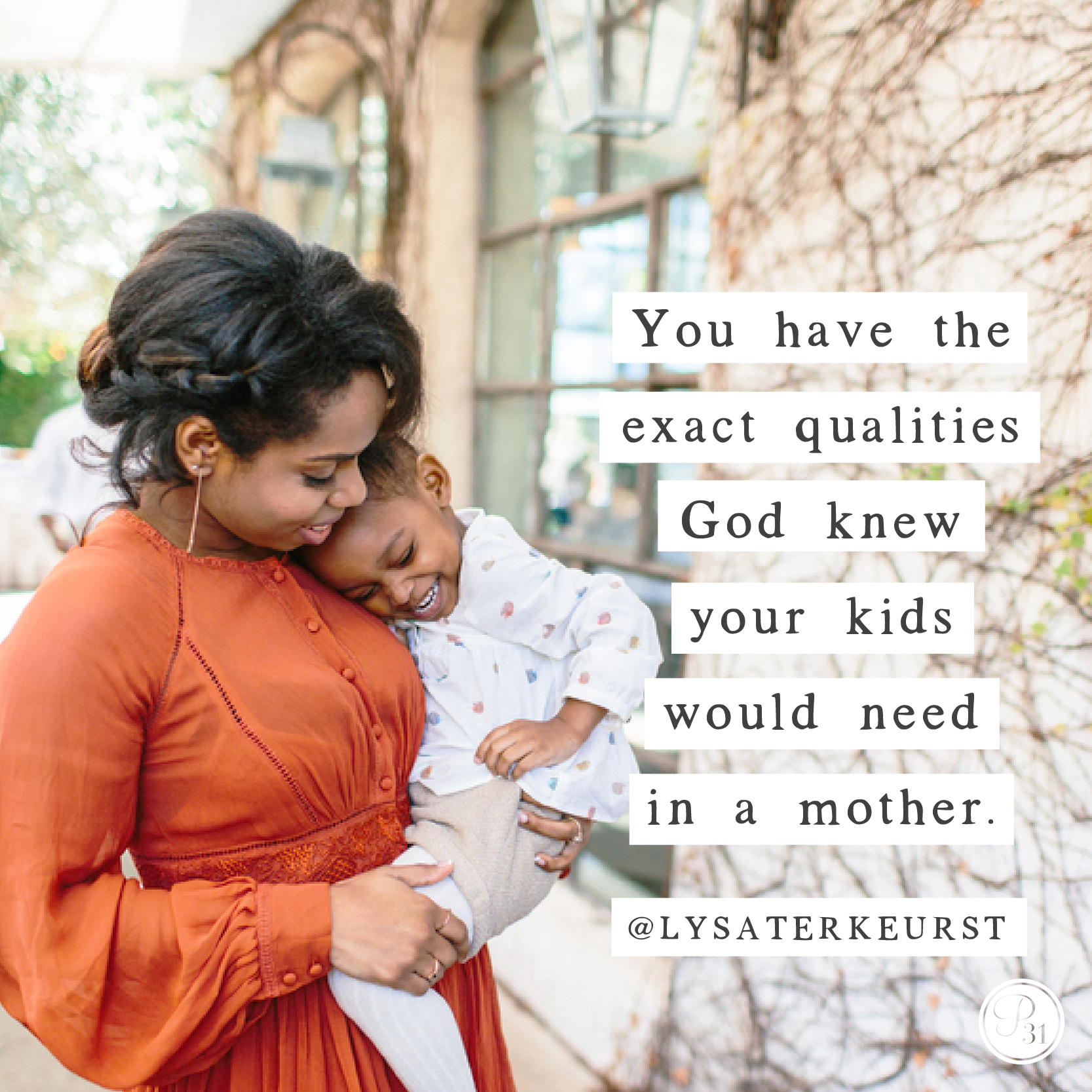 Lysa Terkeurst Christian Mom quote.png