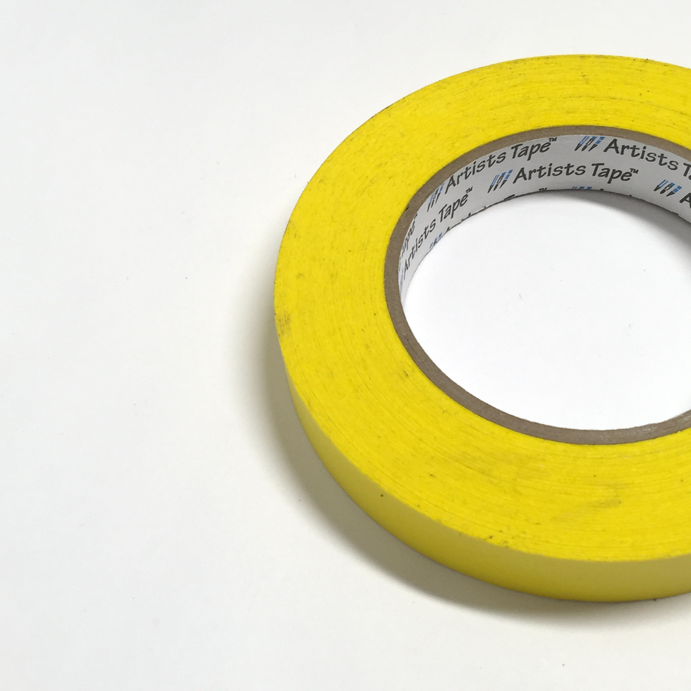 Artists Tape (shown in Yellow)