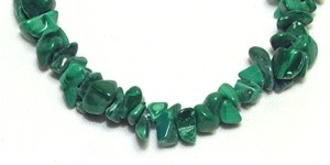 Malachite stone chips