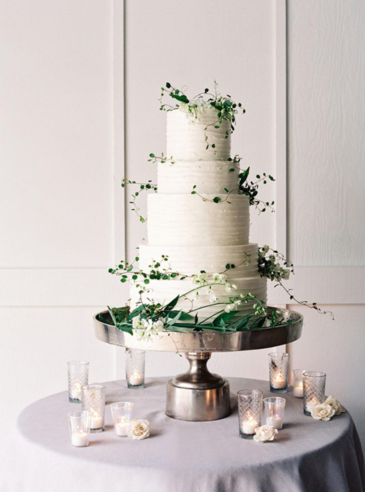 Photo:  Jose Villa  // Cake by  Perfect Endings