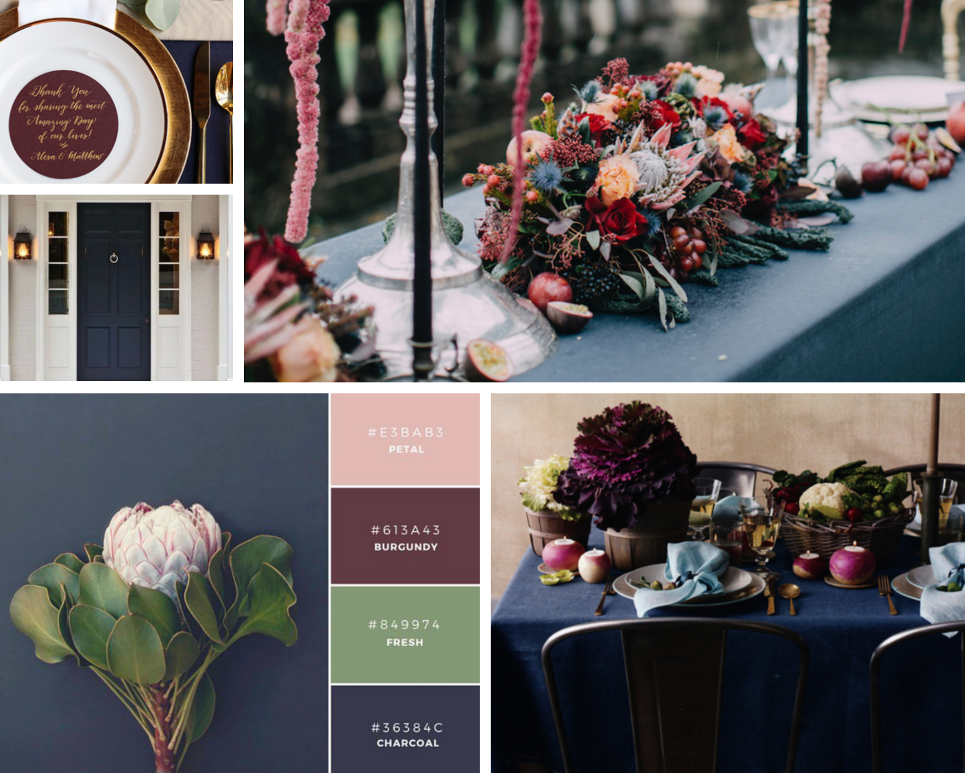 Autumn color palette inspiration // ww.chavelli.com