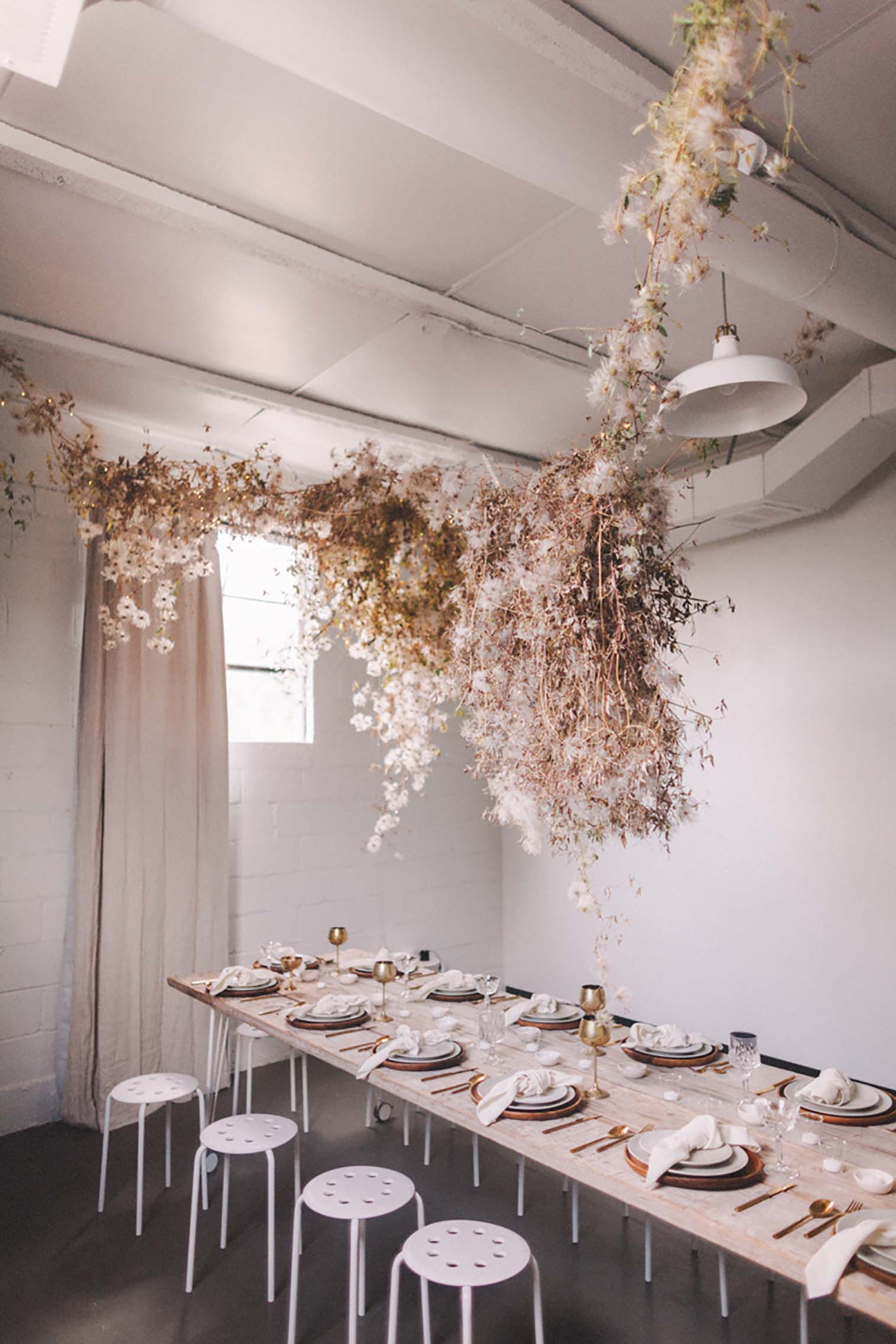 Floral installation |  Nicole Land of Soil and Stem