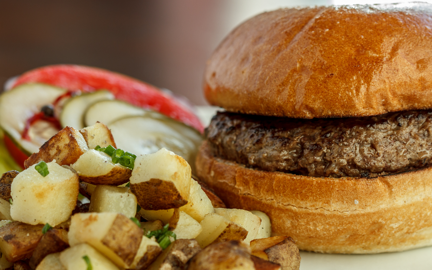 All Natural Beef Burger, Ironwood American Bistro