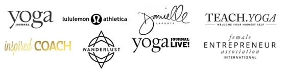 Dani March as seen in Yoga Journal