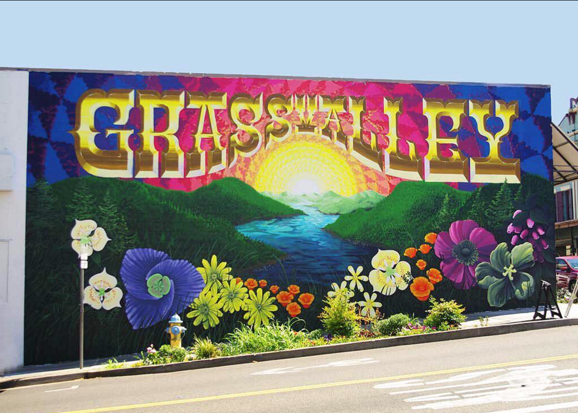 Mural for Grass Valley, CA