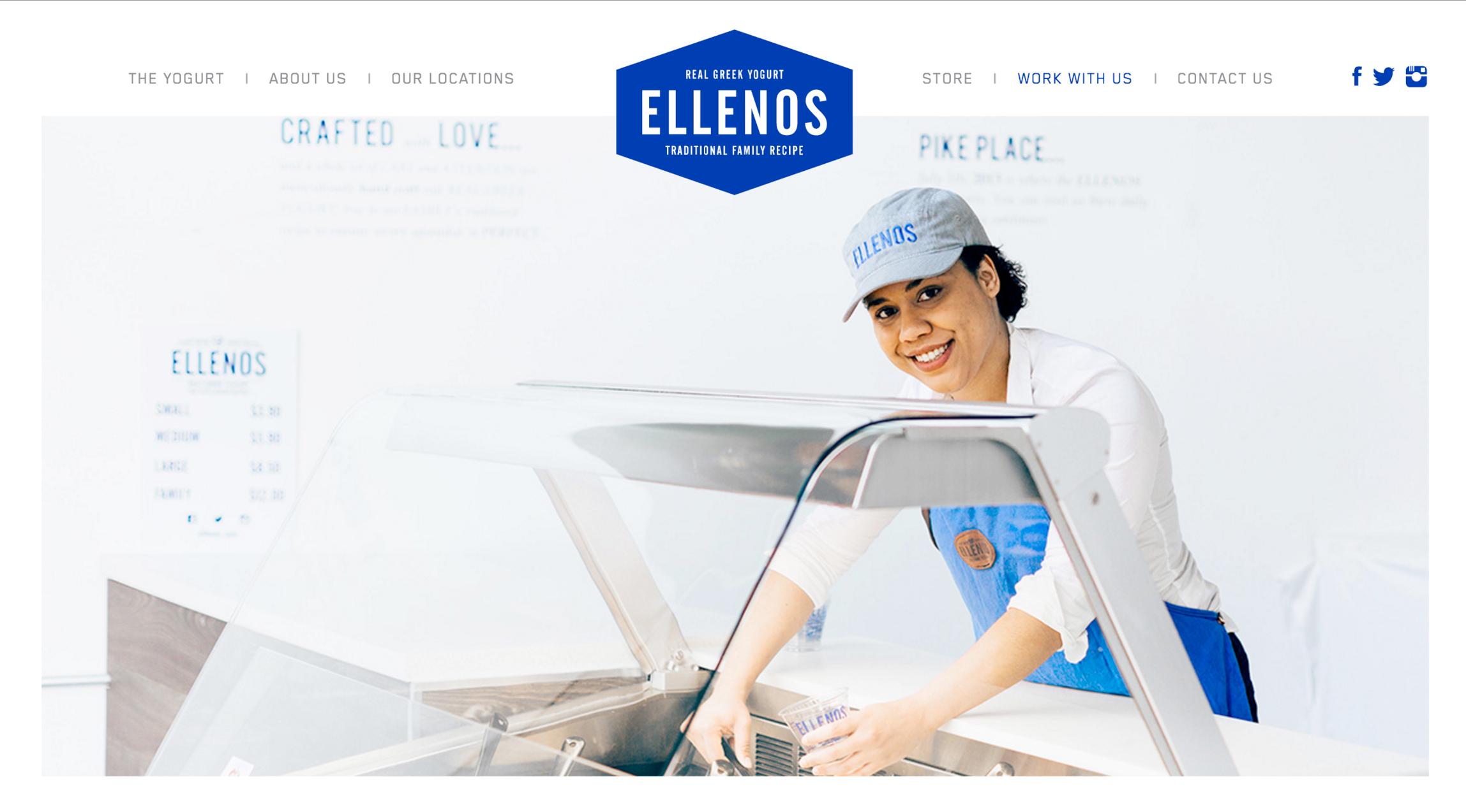 ELLENOS YOGURT CAMPAIGN | Glasfurd & Walker — Haris Kenjar