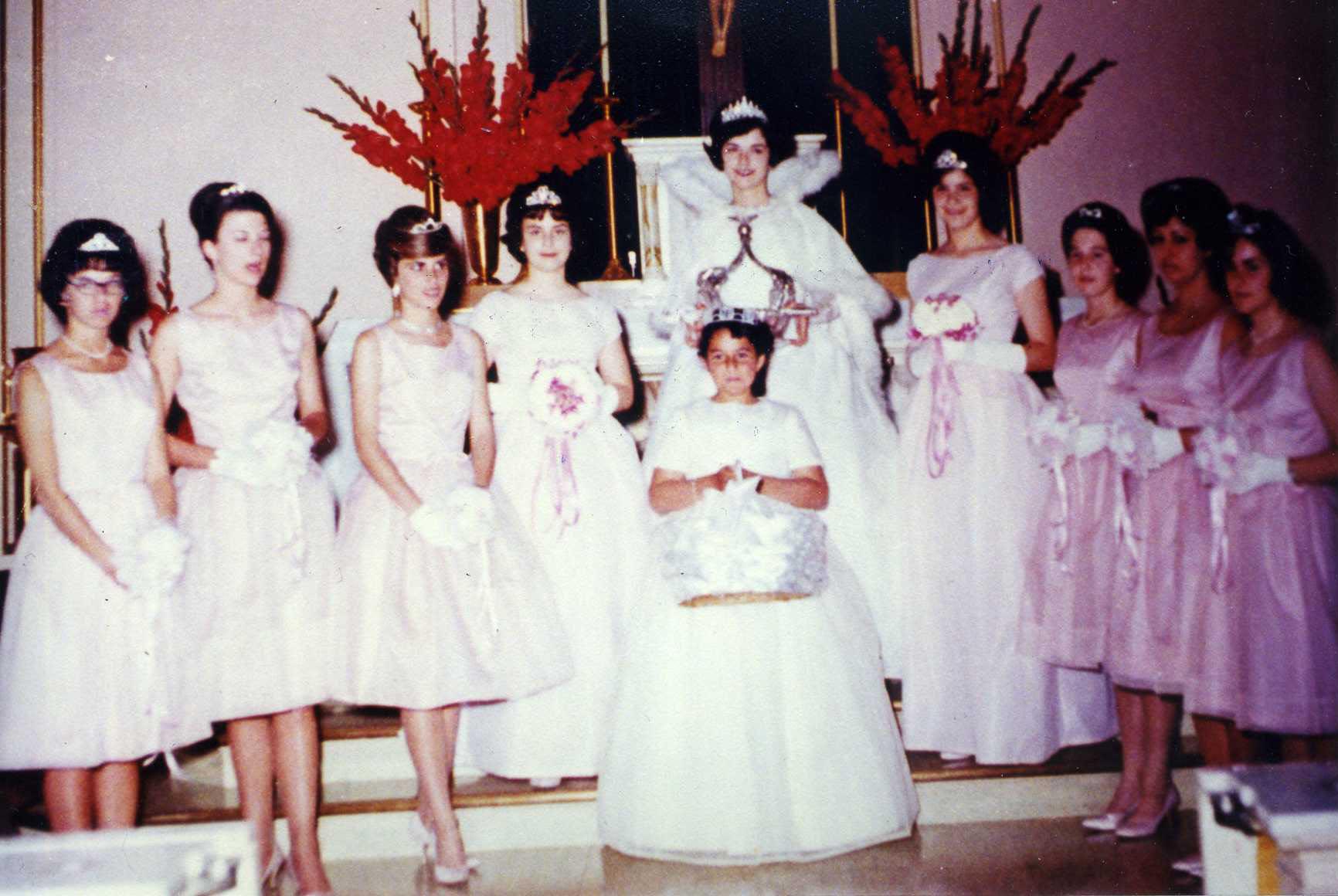 1961 Festival Queen - Mary Haller