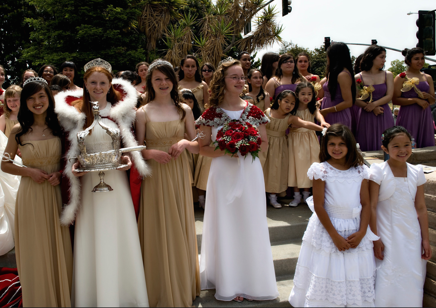 2011 Festival Queen - Katherine Bradshaw    Sidemaids  - Nicolette Gacusen & Rachel Adamson -  Honor Maid  - Kelsey Reynolds