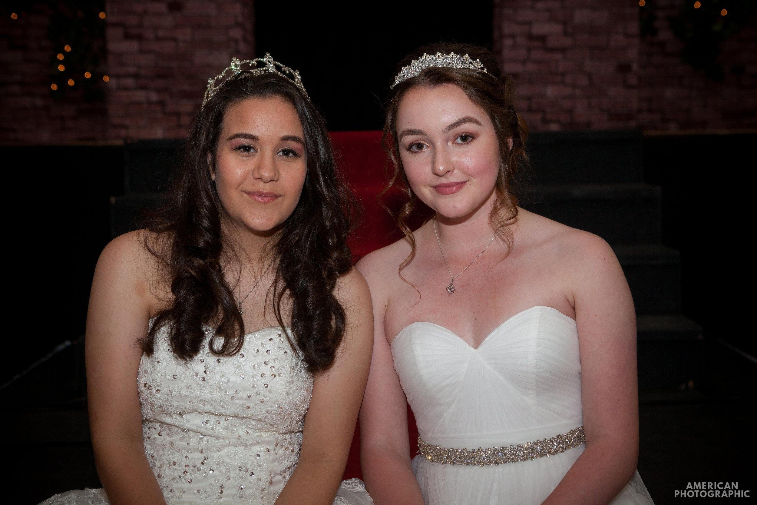 2017 Festival Queen - Lauren Coulthard (Left) and Honor Maid - Paula Raeside (Right)