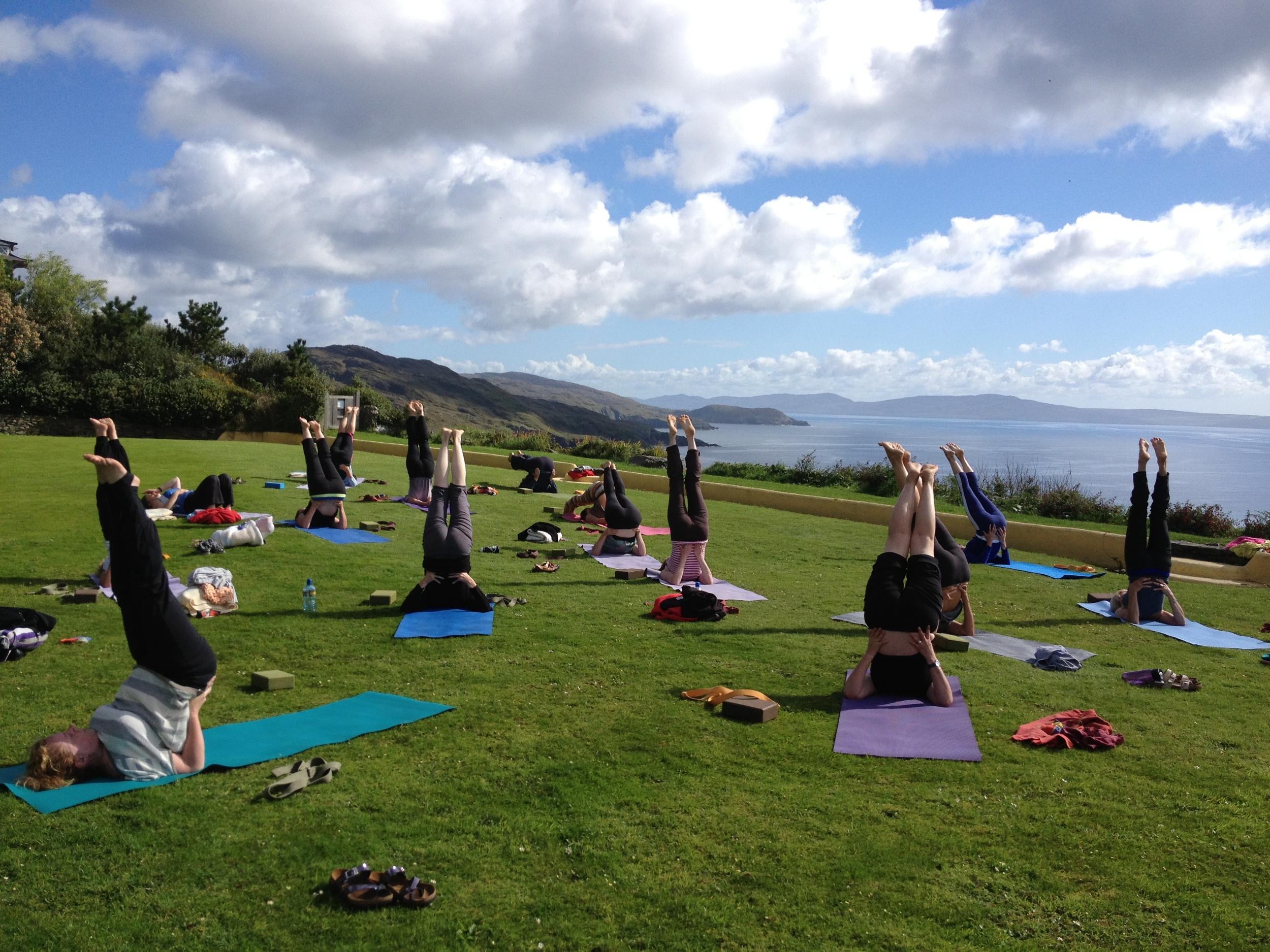 Irish Yoga Retreats Jess Hatchett Flow Yoga