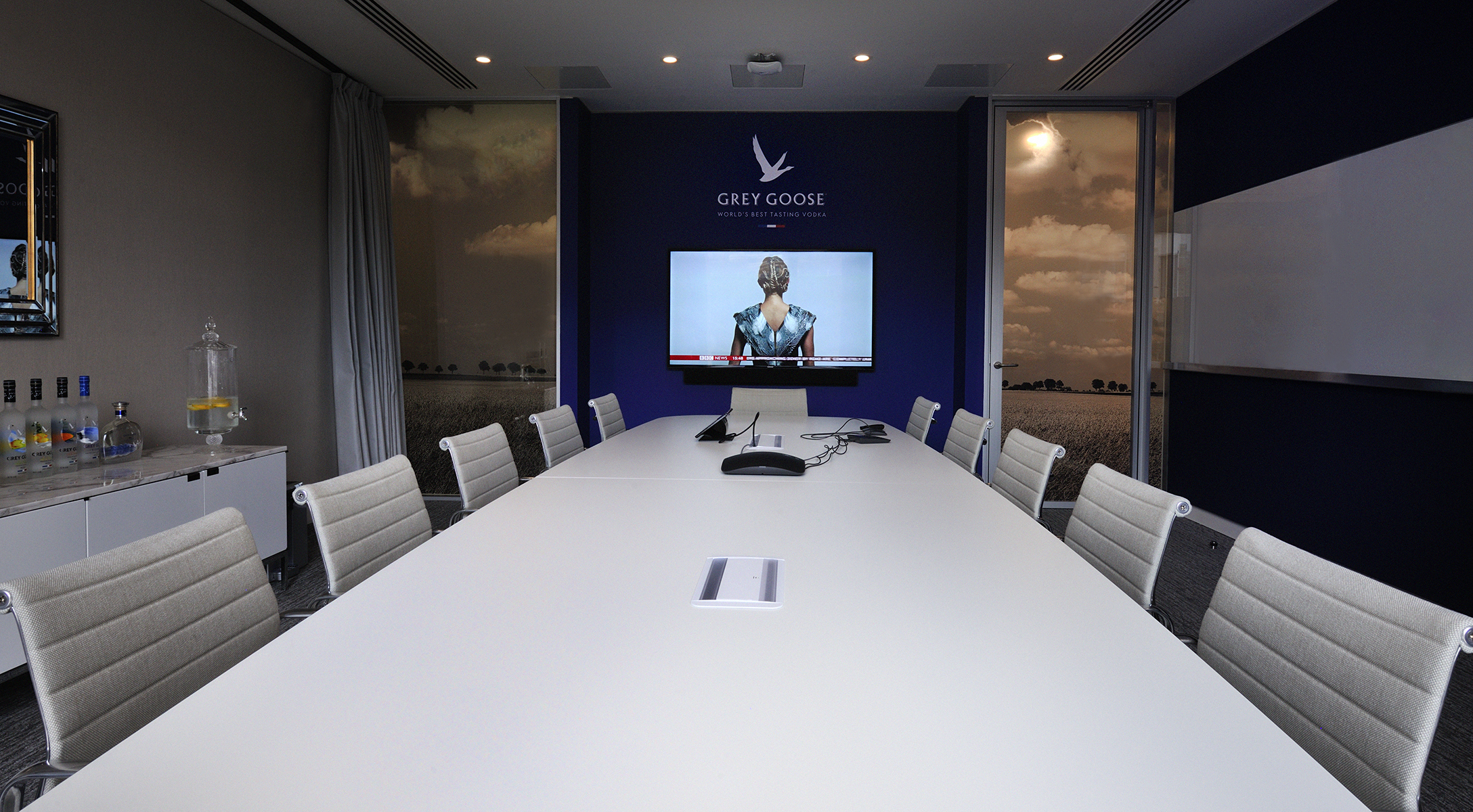 The Grey Goose Meeting Room.