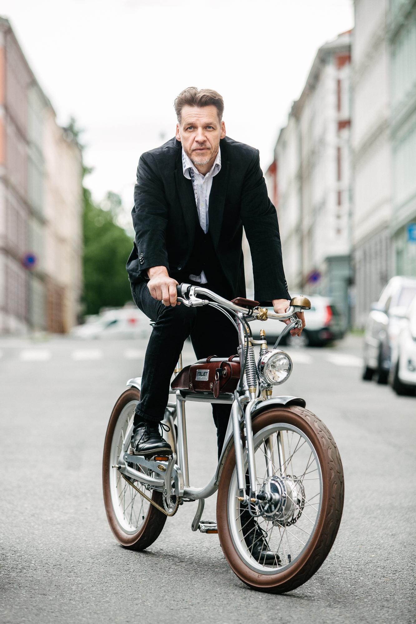 ItalJet bike importer Tore Bakkeløkken.