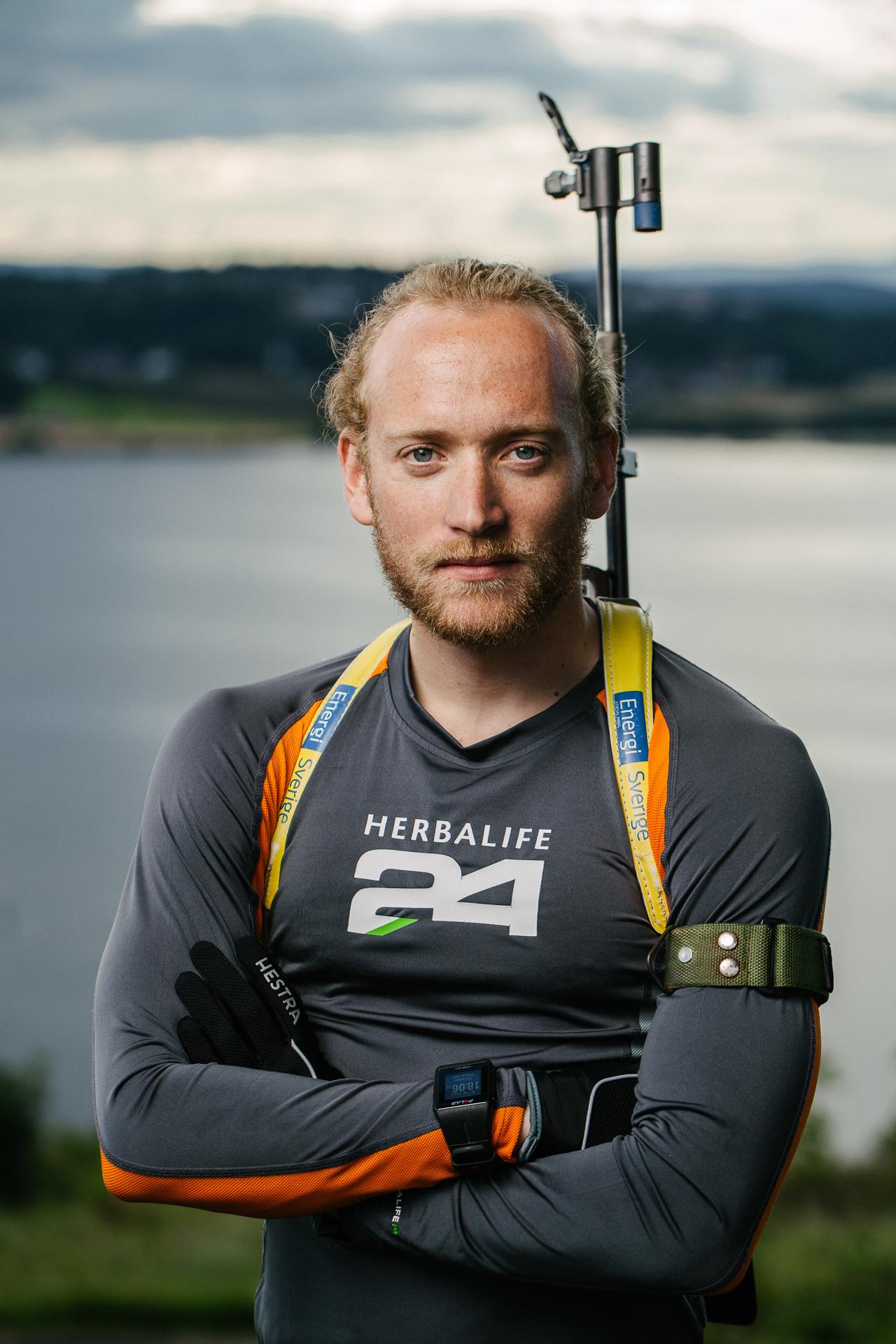 Biathlon-athlete Torstein Stenersen.