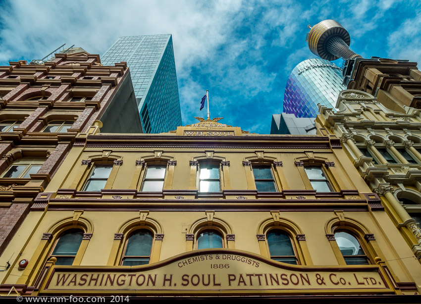 Photo Take: Pitt St Mall, Sydney. 1/100 sec, 12mm, f/8.0, ISO100