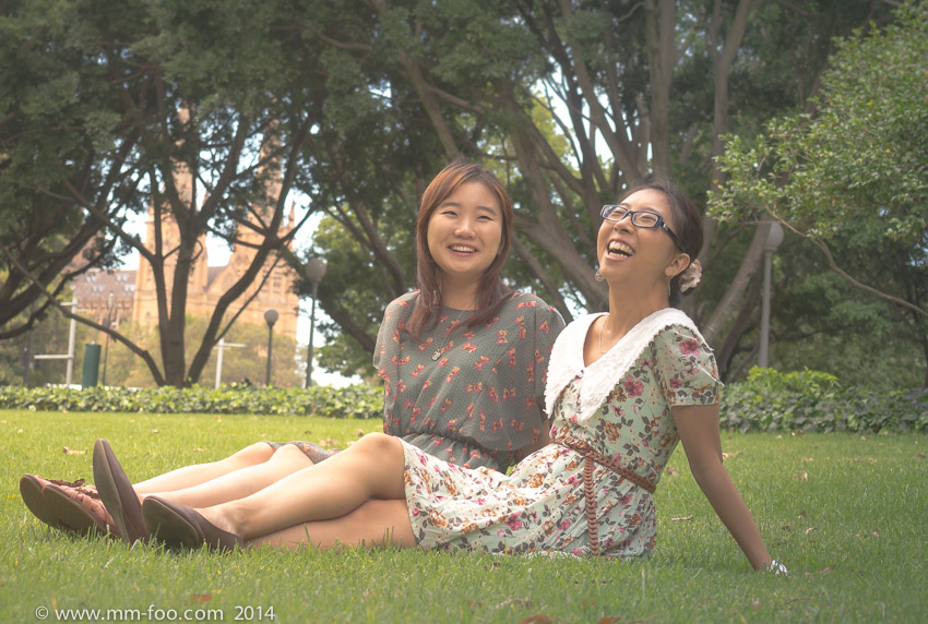 Hyde Park with Soojin. 1/100 sec, 42mm, f/5.6, ISO100, M.Zuiko 14-42mm f/3.5-5.6 II R.