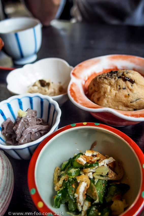 Side dishes made with tofu/beancurd
