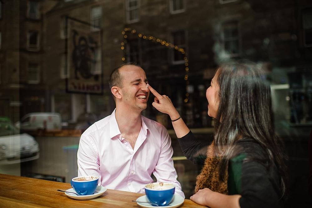 Edinburgh Engagement Session - Barbara & Andrew - Shane P. Watts Photography