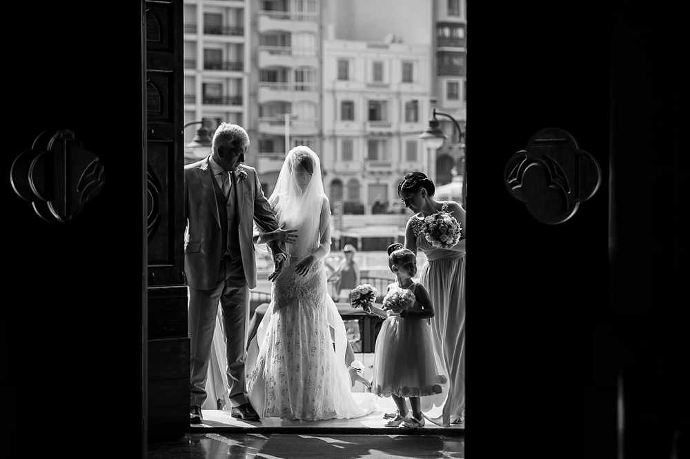 Rebecca & Clyde - Balluta Church - Villa Bologna - Shane P. Watts - Wedding Photography Malta