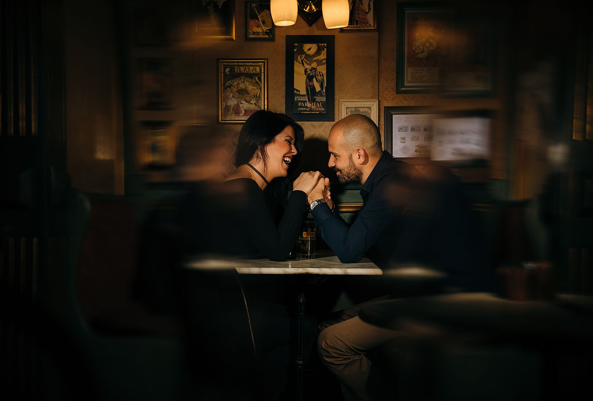 Lisa & Duncan - Engagement Session - Cafe Jubilee - Shane P. Watts Photography
