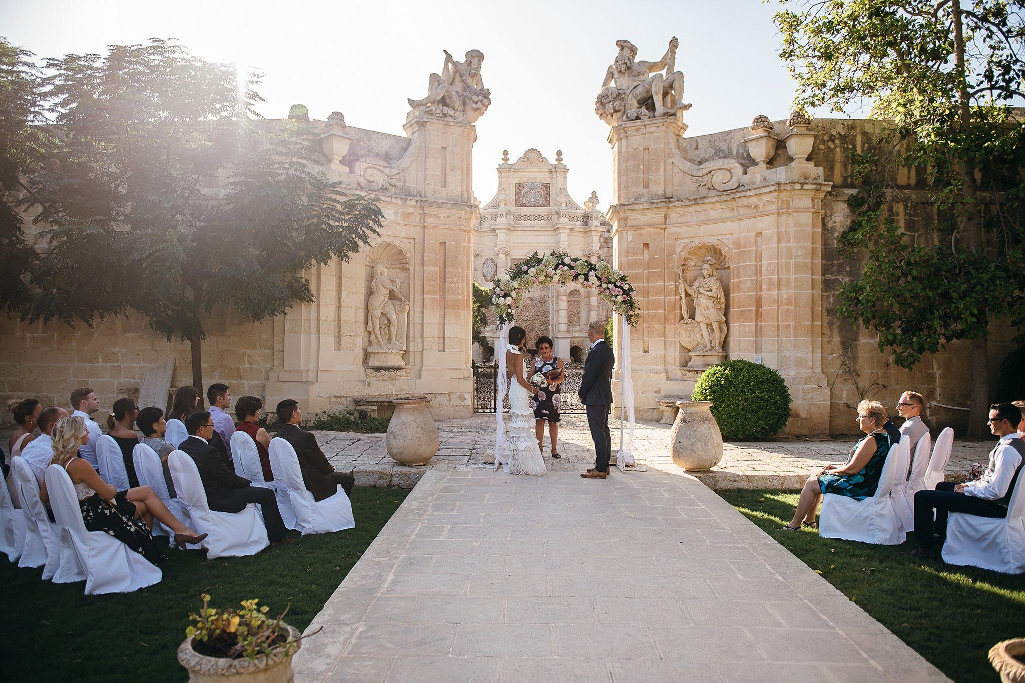 Ashley & Adam | Villa Bologna | Destination Wedding Malta